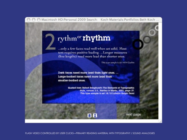 Notes on Type Rhythm Module