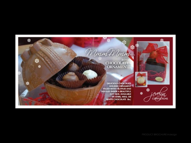 J. Evelyn Confections Christmas Brochure