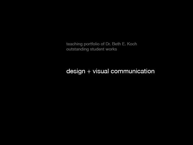 Koch_Student's Work_undergrad+grad15